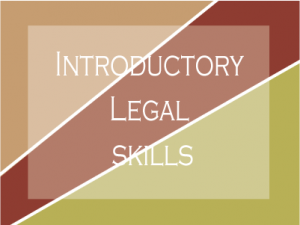 Introductory Legal Skills