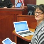 A Court Reporter Stops All Foolishness