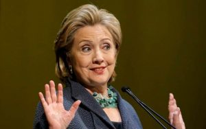 Hillary Clinton, Democratic presidential candidate, 2016 election