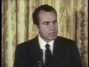 Richard Nixon foreshadows 2016 election