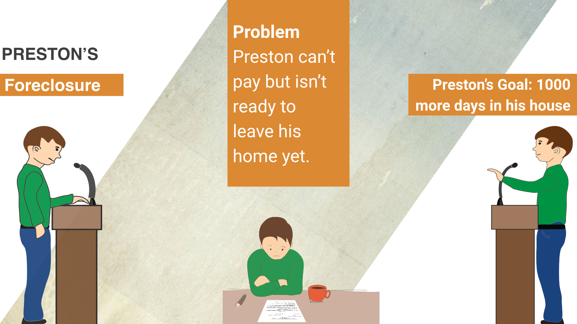 Preston's Foreclosure